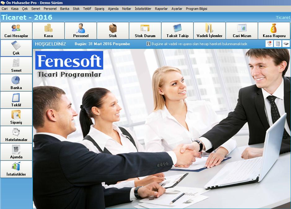 Fenesoft Ön Muhasebe Programı