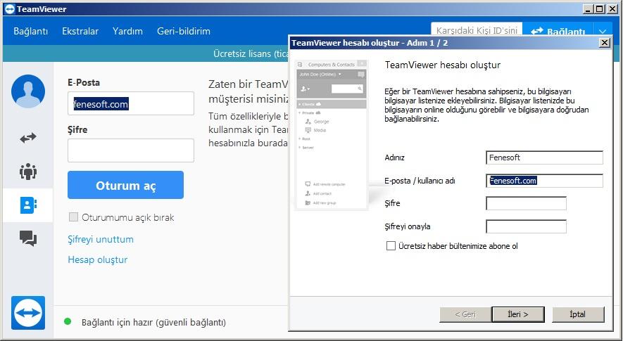 teamviewer indir